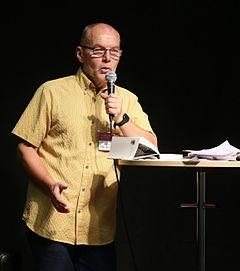 Lars Åke Augustsson på Bogmessen i Göteborg 2014