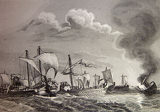 naval battle of the Second Punic War, fought near the mouth of Ebro River in the spring of 217 BC