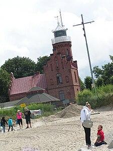 Latarnia Morska w Ustce - lipiec 2011 (8).jpg