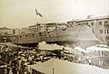 Launch of Italian Giuseppe Garibadi-class armored cruiser, Varese, August 6, 1899 (33455359866).jpg