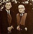 Laurence M. Gould and Abram L. Sachar 1961.jpg