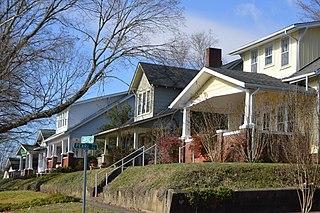 Euclid Avenue Historic District (Bristol, Virginia) United States historic place