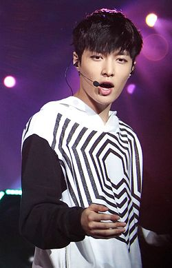 Lay Zhang at the EXO The Lost Planet in Singapore 07.jpg