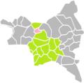 Le Bourget (Seine-Saint-Denis) dans son Arrondissement.png