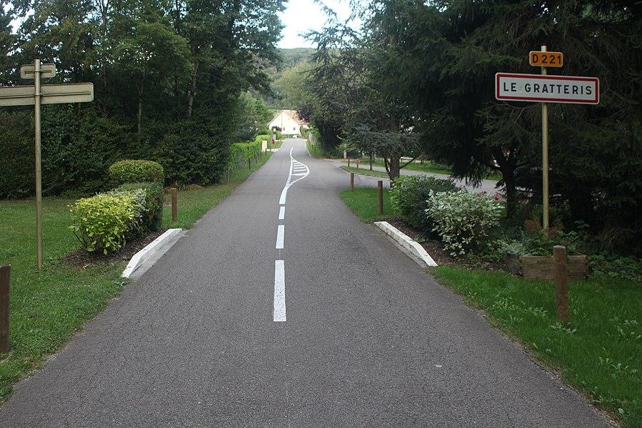 Entrée du Gratteris (Doubs).