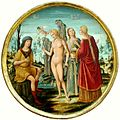 Le Jugement de Paris.1500. Louvre..jpg