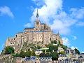 Le Mont-Saint-Michel depuis la chaussée.JPG