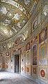 Le portique de la cour circulaire intérieure (Palais Farnese, Caprarola, Italie) (26856409467).jpg