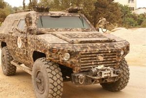 King Abdullah Design and Development Bureau - A Lebanese variant of the KADDB produced 4x4 Nimr.