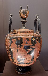 type of ancient Greek cauldron