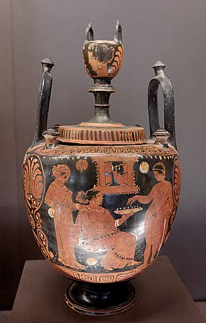 Lebes - Lebes gamikos, a vessel that was part of an ancient Greek wedding