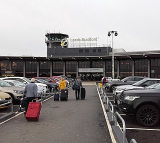Leeds Bradford Airport Airport in West Yorkshire, England