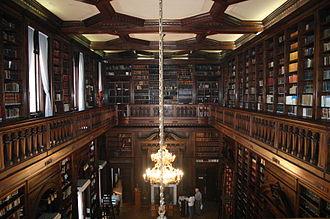 Palacio de la Legislatura de la Ciudad de Buenos Aires - Esteban Echeverría Library