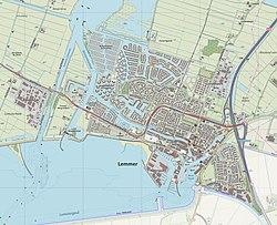Map of Lemmer