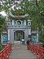 Lentrée du temple du Mont de Jade (Hanoi) (4359940508).jpg