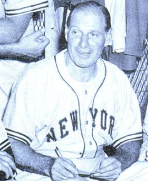 English: New York Giants manager Leo Durocher ...
