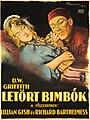 Letört bimbók magyar filmplakát (Nemes György, 1923).jpg