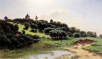 Lev Lvovich Kamenev - Image: Lev Kamenev Savvino Storozhevsky Monastery near Zvenigorod