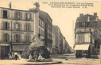 Rue Chaptal Levallois Perret Wikipedia