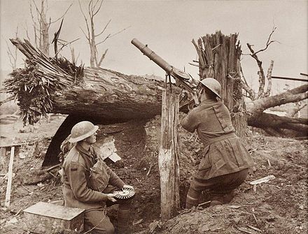 Image result for ww1 LEWIS GUN range site