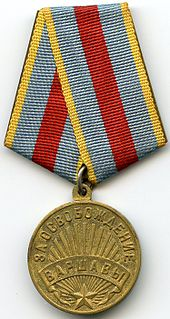 """Medal """"For the Liberation of Warsaw"""""""