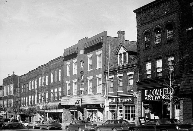 Liberty Avenue, Bloomfield