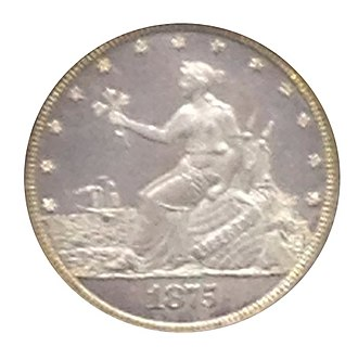 "Twenty-cent piece (United States coin) - The ""Liberty by the Seashore"" pattern coin"