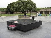 Monument commémoratif à Delhi, capitale de l'Inde