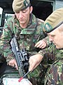 Lieutenant & Sergeant of the 2nd Battalion Yorkshire Regiment (RLH).JPG