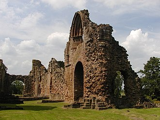 Lilleshall - Remains of Lilleshall Abbey