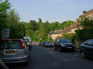 North end of Wolf's Row, Limpsfield