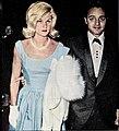 Linda Somers and Sal Mineo, 1961.jpg