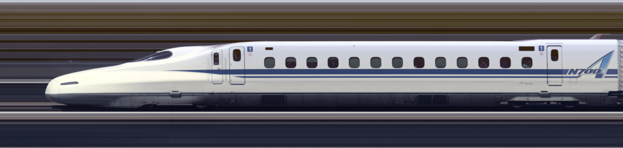 Line scan photo of Shinkansen N700A Series Set G13 in 2017, car 01.png