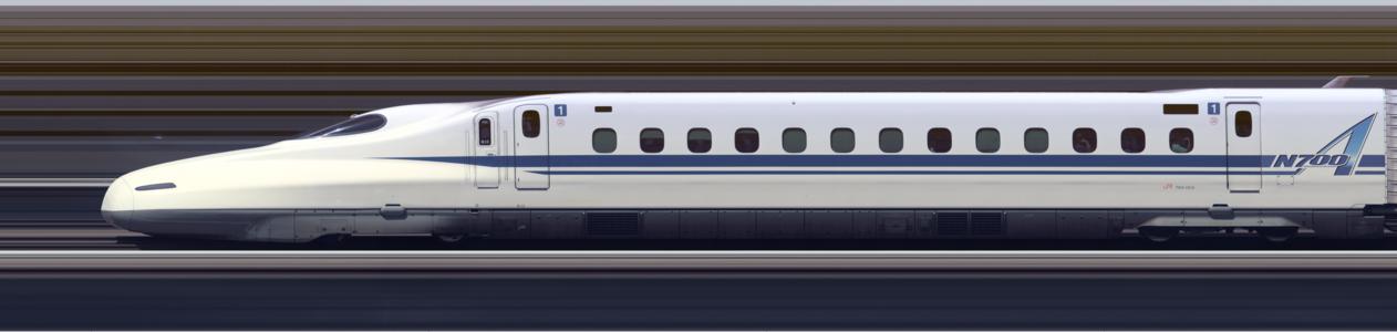 Line scan photo of Shinkansen N700A Series Set G13 in 2017, car 01.png