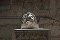 Lion Sculpture in Emek Refaim Street Jerusalem (8750837506).jpg