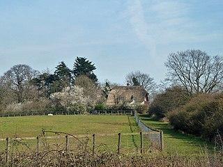 Jacks Hatch hamlet in Epping Upland, Epping Forest, Essex, England