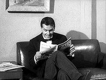 Jack Nicholson nel ruolo di Wilbur Force ne La piccola bottega degli orrori (1960)