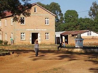 Livingstonia, Malawi - Image: Livingstonia MW