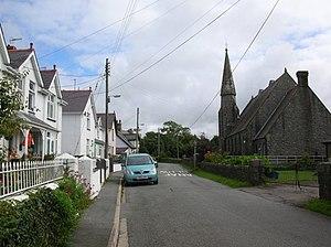 Pencaer - Llanwnda village