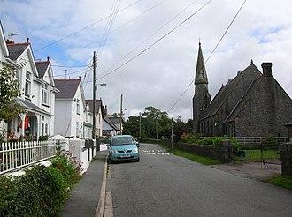 Llanwnda, Gwynedd - Image: Llanwnda geograph.org.uk 1062786