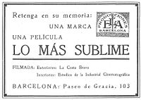 Lo mas sublime 1927 publicitat a Popular Film 21 7 1927.jpg