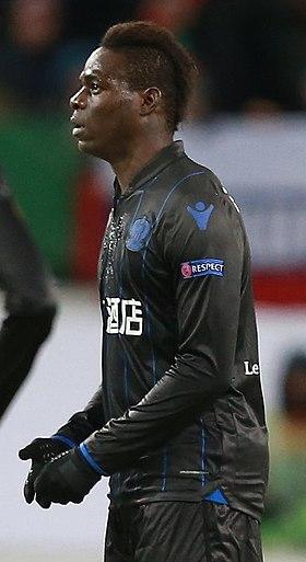 Mario Balotelli sous les couleurs de l'OGC Nice en 2018.
