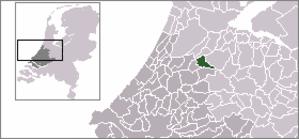 Nieuwveen - Image: Locatie Liemeer