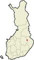 Location of Juuka in Finland.png
