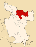 Location of the province Lamas in San Martín.PNG
