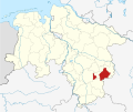 Locator map WF in Lower Saxony.svg
