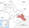 Locator map of Kanton Oisans-Romanche 2019.png