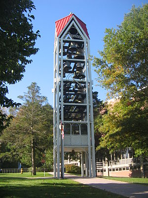 Lock Haven University of Pennsylvania - Carillon on campus