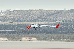 Lockheed Martin X-56A first takeoff.jpg