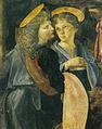 Loenardo e verrocchio, battesimo di cristo, 02.jpg